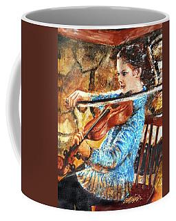 Emma's Violin Coffee Mug