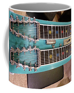 Coffee Mug featuring the photograph Emmons Lashley Legrande Pedal Steel Guitar by Rosanne Licciardi
