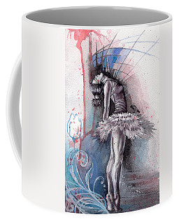 Emotional Ballet Dance Coffee Mug