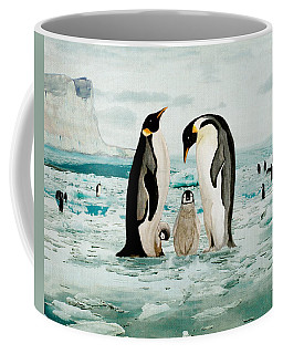 Emperor Penguin Family Coffee Mug