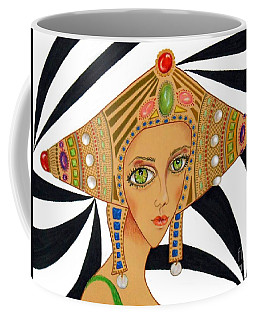 Empress Exotica -- Whimsical Exotic Woman Coffee Mug