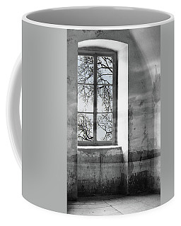 Coffee Mug featuring the photograph Emptiness by Munir Alawi