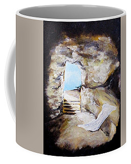Empty Burial Tomb Coffee Mug