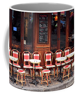 Empty Montmartre Cafe Coffee Mug