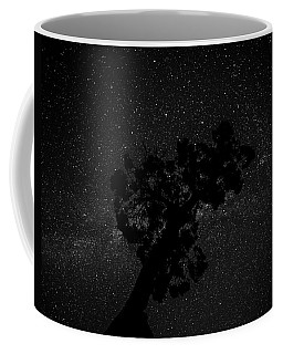 Coffee Mug featuring the photograph Empty Night Tree by T Brian Jones