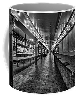 Empty Pike Place Market In Seattle Coffee Mug