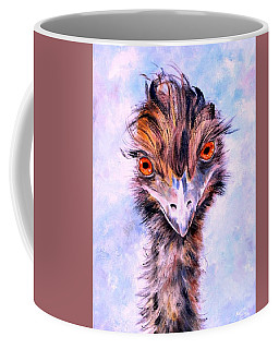 Emu Eyes Coffee Mug