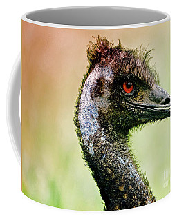 Emu Love Coffee Mug by Michael Cinnamond
