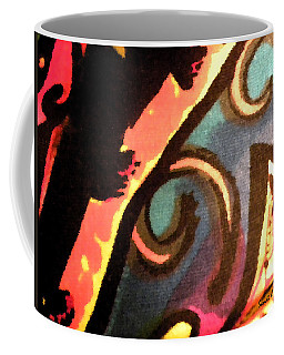 Coffee Mug featuring the mixed media En Joy Ll by Sandi OReilly
