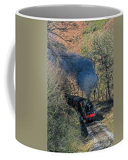 En Route To Goathland Coffee Mug