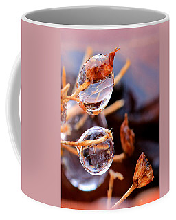 Encapsulated By Ice Coffee Mug by Christopher McKenzie