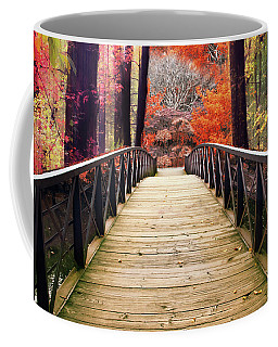 Coffee Mug featuring the photograph Enchanted Crossing by Jessica Jenney