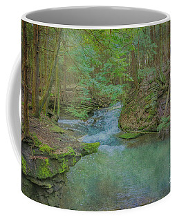 Coffee Mug featuring the digital art Enchanted Forest One by Randy Steele