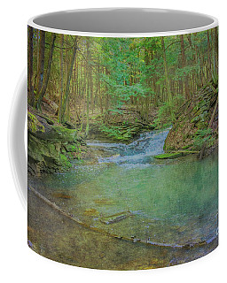 Coffee Mug featuring the digital art Enchanted Forest Two by Randy Steele