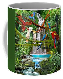 Enchanted Jungle Coffee Mug by Glenn Holbrook