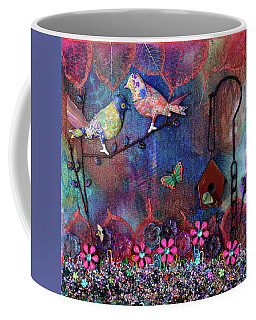 Enchanted Patchwork Coffee Mug by Donna Blackhall