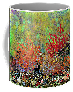 Enchanted Pathways Coffee Mug by Donna Blackhall