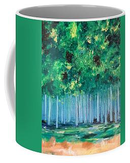Enchanted Poplars Coffee Mug