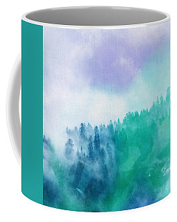 Coffee Mug featuring the photograph Enchanted Scenery by Klara Acel