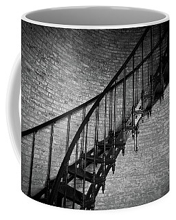 Coffee Mug featuring the photograph Enchanted Staircase II - Currituck Lighthouse by David Sutton