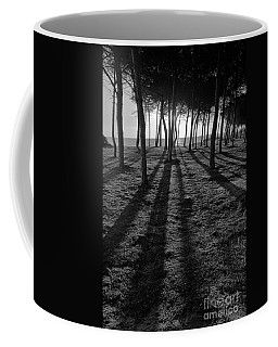 Enchanted Sunset In Monochrome Coffee Mug by Angelo DeVal