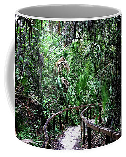 Coffee Mug featuring the photograph Enchanted Walk by Gary Wonning