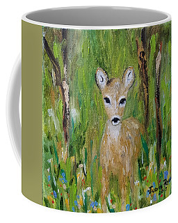Coffee Mug featuring the painting Enchantment by Judith Rhue