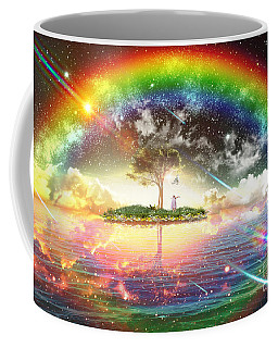 Encountering The Holy Spirit Coffee Mug by Dolores Develde