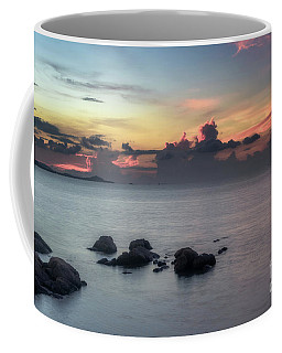 Coffee Mug featuring the photograph End Of A Hot Day by Michelle Meenawong