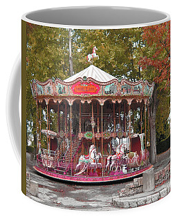 Coffee Mug featuring the photograph End Of A Season by Victoria Harrington