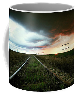 End Of A Stormy Day Coffee Mug