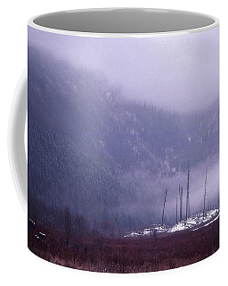 Coffee Mug featuring the photograph End Of Autumn Afternoon  by Lyle Crump