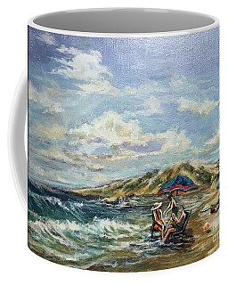 End Of Beach Day  Coffee Mug