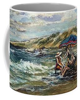 End Of Beach Day  Coffee Mug