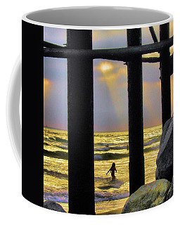 Coffee Mug featuring the photograph End Of Day by Howard Bagley