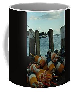 End Of Season At Owls Head Coffee Mug