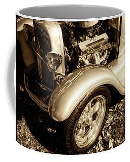 End Of Season Bw Coffee Mug