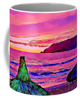 End Of The Beach Day In Mazatlan Coffee Mug