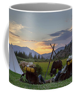 Coffee Mug featuring the photograph End Of The Day by Jack Bell