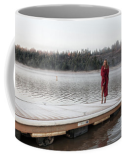 End Of The Dock Coffee Mug