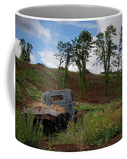 End Of The Road Coffee Mug