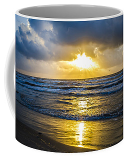 Coffee Mug featuring the photograph End Of The Season Padre 29 by Mez