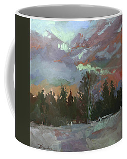 Winter's Last Flame Coffee Mug