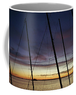 End To A Day Of Sailing  Coffee Mug