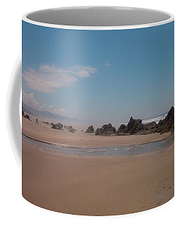 Coffee Mug featuring the photograph Endless Beach by Charles Robinson