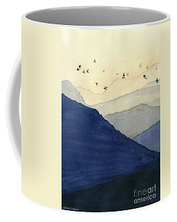 Endless Mountains Left Panel Coffee Mug