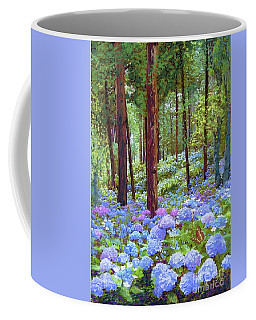 Endless Summer Blue Hydrangeas Coffee Mug