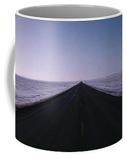 Endless Winter Road Coffee Mug
