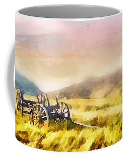 Coffee Mug featuring the painting Enduring Courage by Greg Collins