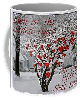Coffee Mug featuring the photograph Enduring Heart by DJ Florek